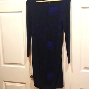 Elie Tahari Black Sweater Dress Size Xs